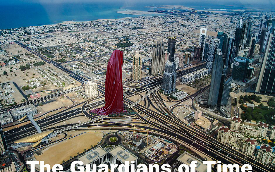 ... Dubai Sculpture Projects March Guardians of Time by Manfred Kielnhofer