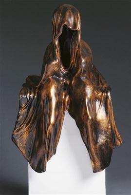 auction schlosser bamberg antique contemporary art modern design sculpture waechter der zeit guardians of time by manfred kielnhofer