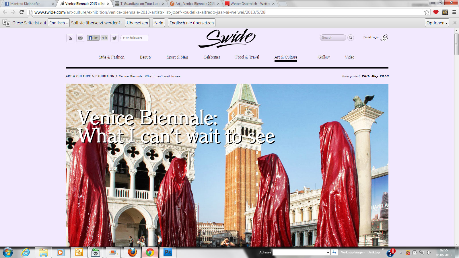 public-show-art-biennial-venice-italy-manfred-kielnhofer-guardians-of-time-sculpture-festival-art-arts-swide