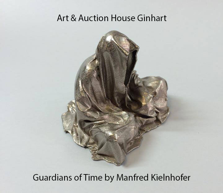 auction-ginhart-guardians-of-time-sculpture-manfred-kielnhofer-fine-modern-contemporary-art-antiques-design-arts-arte