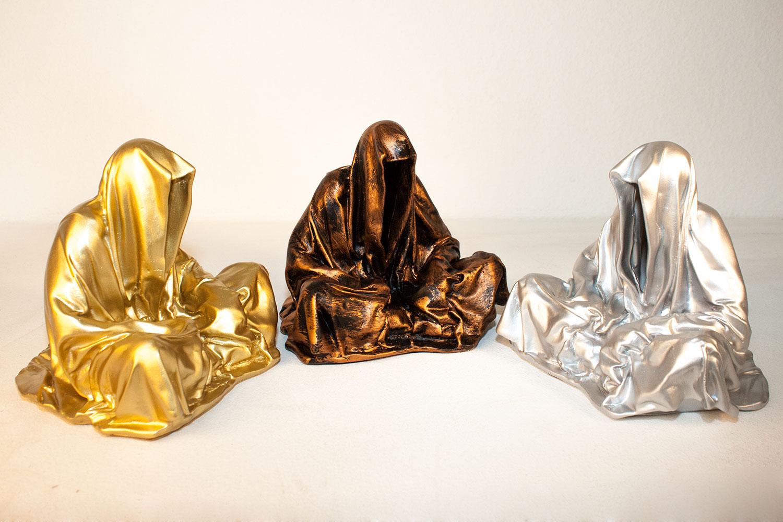 Guardians of time by sculptor designer photographer artist for Art moderne sculpture
